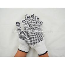 O fornecedor de porcelana do PVC pontilha mão luvas de trabalho