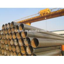 ms preto erw tubo de caldeira de aço soldado / pipe