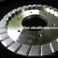 hochwertige galvanisierte Bremsbelag-Diamantschleifscheibe