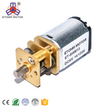 small dc geared motor 3v with low noise for electric car