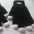 Opp Bag Package Led Gloves For Party Or Halloween