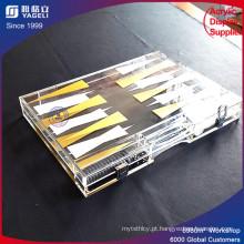 Caixa de jogo de placa de exibição de acrílico