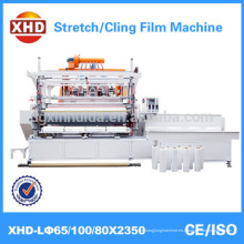 Automática de alta velocidad de tres capas de película plástica pe (película de estiramiento lldpe) que hace la máquina Calidad Asegurada