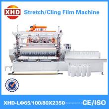 Film automatique en plastique à trois couches de haute vitesse (film étirable lldpe) Machine de fabrication Qualité assurée