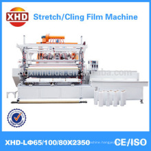 automatic high speed three layer pe plastic film (lldpe stretch film) making machine Quality Assured