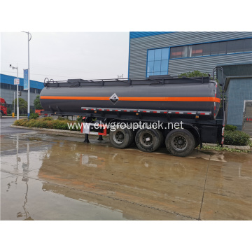 3 axles oil fuel tanker semi trailer