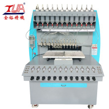 Reliable for China Silicone Label Dispensing Machine, Silicone Patch Dispensing Machine, Silicone Usb Case Dispensing Machine, 8 Color Silicone Dispensing Machine Supplier High Quality Phone Case Making Machine export to Russian Federation Suppliers