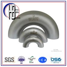 Raccord de tuyau en acier inoxydable coude long rayon de 180 degrés avec grande remise