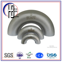 Stainless Steel Pipe Fitting 180 Degree Long Radius Elbow with Big Discount