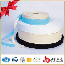 high tenacity 100% cotton herringbone plain weave elastic tape