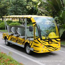Ônibus de traslado de turismo de carro elétrico de 14 lugares (DN-14)