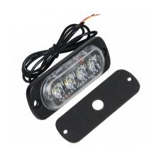 Luz de la motocicleta 12v 24v LED luz estroboscópica 12W Señal de advertencia de emergencia de alta potencia Luz intermitente