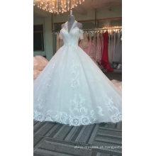 Zhongshan halter cap manga vestido de noiva vestidos de noiva 2017
