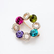 SWA crystal element small rhinestone brooch