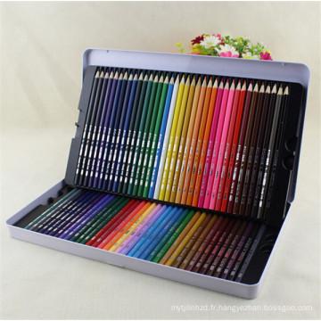 arc-en-ciel personnalisé en bois 72 crayon de couleur