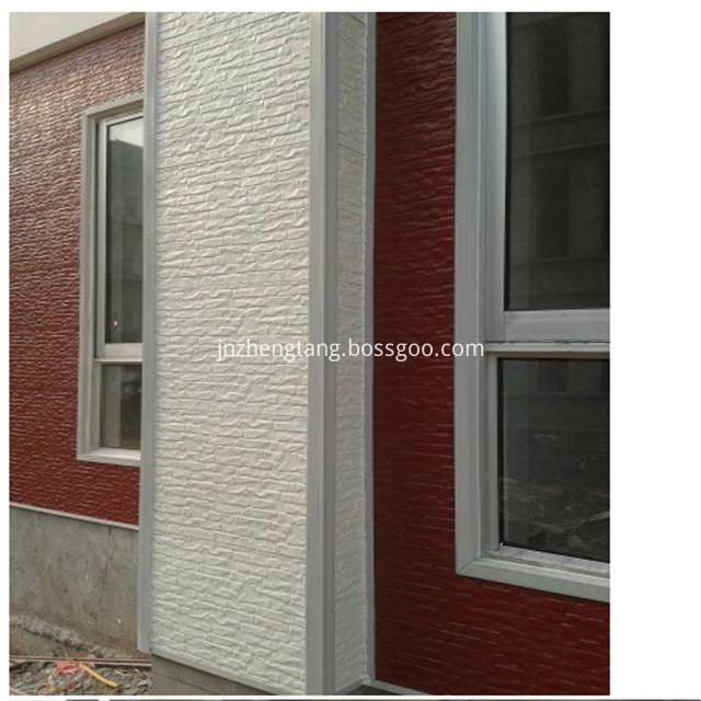 faux tiles white brick wall panels