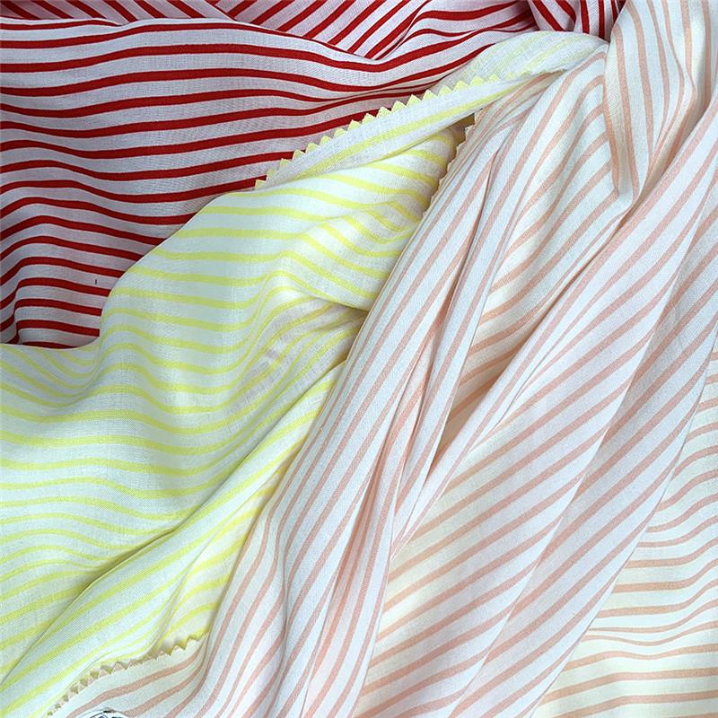 Pinstripe Rayon Fabrics