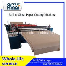 Máquina automática de corte de rollo de papel