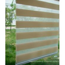 Zebra Blind cortinas de rolo de cores diferentes