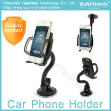 360 girar o suporte ajustável do telefone do carro do suporte da montagem do pára-brisa da sucção