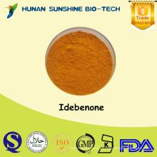 Alibaba China fuerte antioxidante HPLC 99% Idebenone en polvo