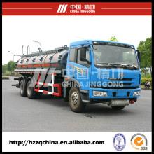 Caminhão de tanque plástico da fama 15000L (HZZ5252GHY) para a entrega líquida química da propriedade