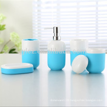 bathroom accessories ceramic wit silicone base