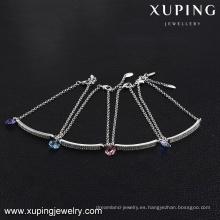 Cristales de joyería de moda 74649-mujeres de Swarovski, pulseras de amistad personalizadas