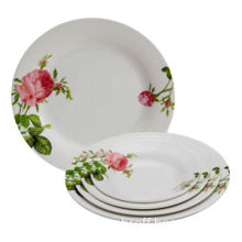 Melamine Plates for Home, Restaurant and Hotel, Customized Designs are Accepted