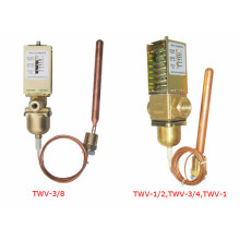 CE approved temperature controlled water valve made in Shanghai