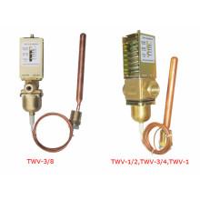Контролируемый с помощью воды клапан для контроля температуры воды, изготовленный в Шанхае