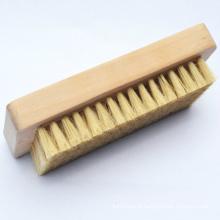 Escova de madeira de nylon macia de fornecimento direto da fábrica