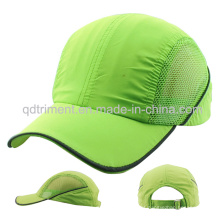 Popular 100% poliéster microfibra malha cap exterior desporto (TMR0774)