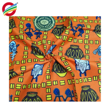Shrink-Resistant 100% polyester african wax fabric for sale