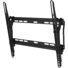 "Montaje de TV negro recubierto de polvo de 26 ""-47"", montaje de pared inclinable para televisores de panel plano"