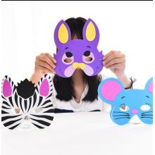 Máscara de animal 3d, máscara de eva, faça sua própria máscara