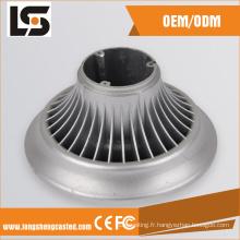 Alliages moulés sous pression LED vers le bas raccords de lampe avec différents modèles