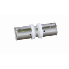 Conector Equal Straight (ajuste de pressão) (Hz8110) para Tubo Pex-Al-Pex, Tubo de plástico de alumínio