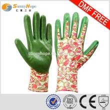 SUNNYHOPE 13gauge kids garden gloves bulk