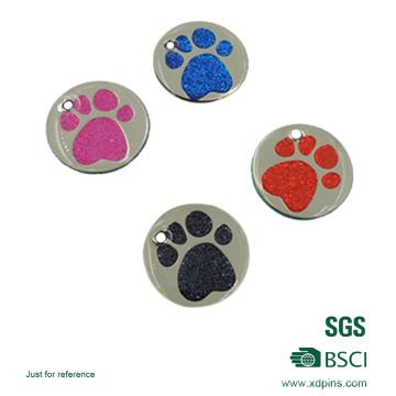 Etiquetas de qualidade de identificação de animais de estimação para cães e gatos (xd-8258)