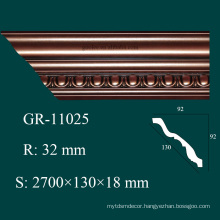 interior decoration high density architectural foam molding for ceiling design