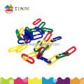 Tri en plastique et compteur de jouets / chaîne de liens en plastique (K004)