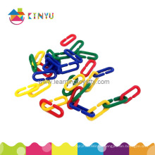 Plastic Linking Sorting Counting Chain Toy (K004)