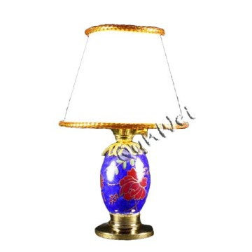 Dollhouse bedroom vintage table lamp