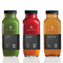 Wholesale Empty Square Milk/Juice/Tea/Drink Glass Bottle with Lid