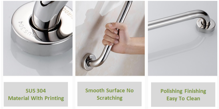 Bathroom Stainless Steel Grab Bar