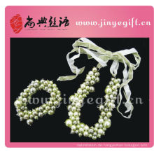 Elegante Brautjungfer Chunky Perlenkette Armband Mode-Accessoires