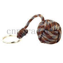 "Brown camo monkey fist 1.5"" steel ball  wholesale"