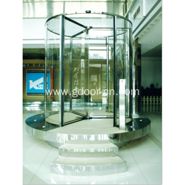 Diamond Three Wing Safety  Revolving Door
