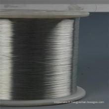 Fil d'acier enduit d'aluminium et fil de toron
